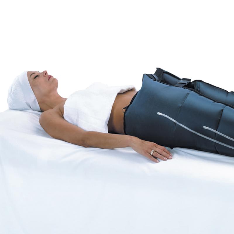 Problèmes de jambes lourdes avec la chaleur, pensez à la pressothérapie